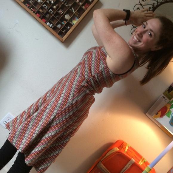 Eva Franco Dresses & Skirts - Eva Franco Anthropologie Stretchy Rainbow Dress